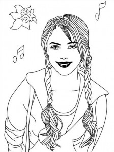 coloring page High School Musical (8)