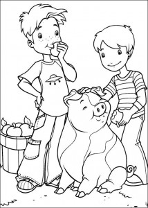 coloring page Hollie Hobby (12)