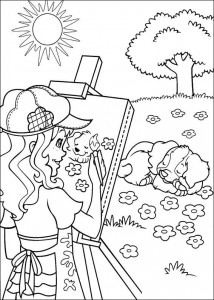 coloring page Hollie Hobby (19)