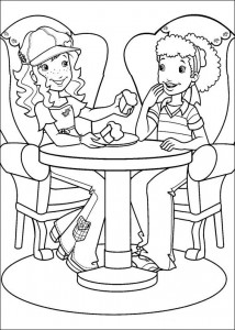coloring page Hollie Hobby (2)