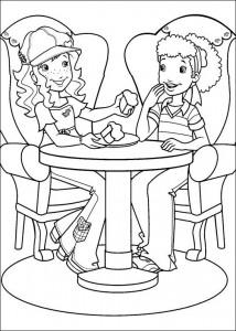 Disegno da colorare Hollie Hobby (2)
