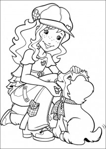 coloring page Hollie Hobby (5)