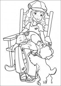 coloring page Hollie Hobby (6)