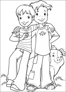 coloring page Hollie Hobby (8)
