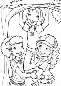 coloring page Hollie Hobby