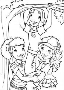 pagina da colorare Hollie Hobby