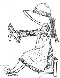 målarbok Holly Hobbie - Original (3)