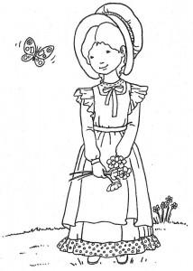 målarbok Holly Hobbie - Original (5)
