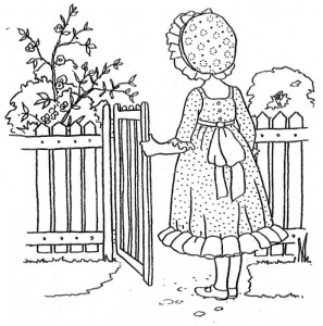 Coloriage Holly Hobbie - Original