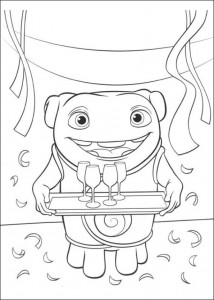 coloring page Home Dreamworks (1)