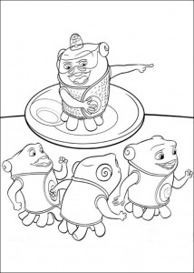 coloring page Home Dreamworks (10)