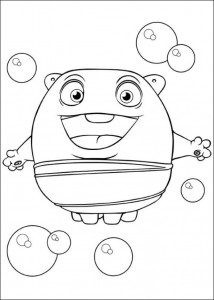 coloring page Home Dreamworks (11)