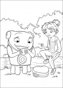 coloring page Home Dreamworks (14)