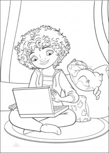 coloring page Home Dreamworks (3)