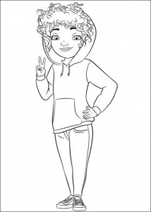 coloring page Home Dreamworks (5)