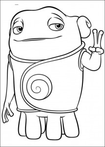 coloring page Home Dreamworks (7)