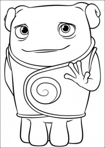 coloring page Home Dreamworks (8)