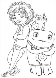 coloring page Home Dreamworks (9)