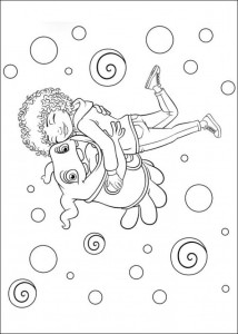 coloring page Home Dreamworks