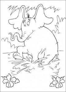 coloring page Horton (1)