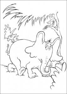 coloring page Horton (15)