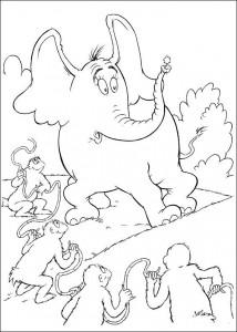 coloring page Horton (17)