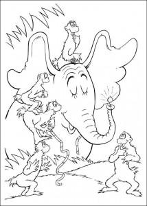 coloring page Horton (22)