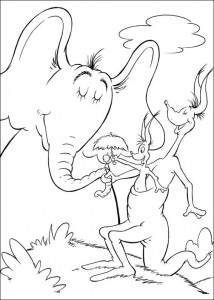coloring page Horton (24)
