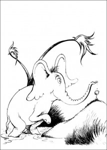 coloring page Horton (29)