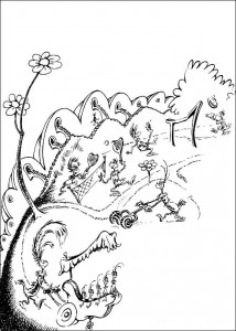 coloring page Horton (35)
