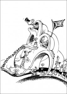 coloring page Horton (36)