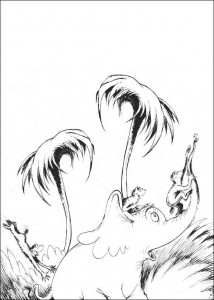 coloring page Horton (37)