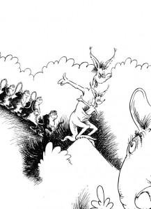 coloring page Horton (45)
