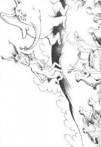 coloring page Horton (46)