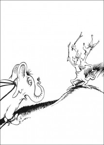coloring page Horton (48)