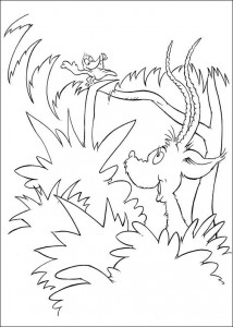 coloring page Horton (5)