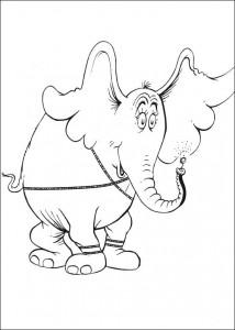 coloring page Horton (51)
