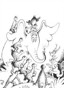 coloring page Horton (56)