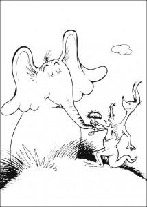 coloring page Horton (57)