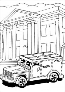 coloring page Hot Wheels (1)