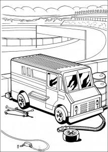 målarbok Hot Wheels (15)