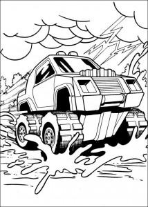 målarbok Hot Wheels (28)