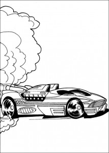 coloring page Hot Wheels (3)