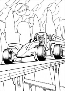 coloring page Hot Wheels (32)