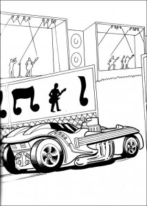 coloring page Hot Wheels (33)