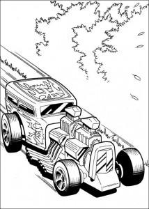 målarbok Hot Wheels (38)