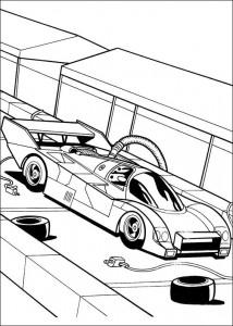målarbok Hot Wheels (6)