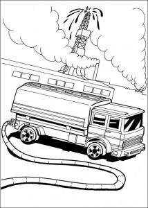 målarbok Hot Wheels (7)