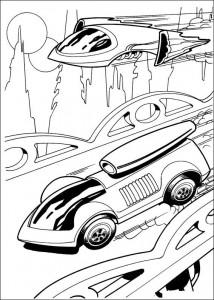 målarbok Hot Wheels