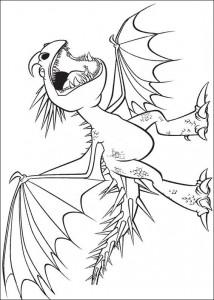 målarbok Hur du tränar din drake (1)